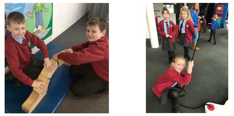 Year 4 trip to Techniquest